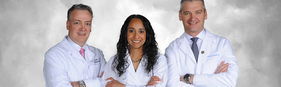 Costello_Three Docs in lab coats